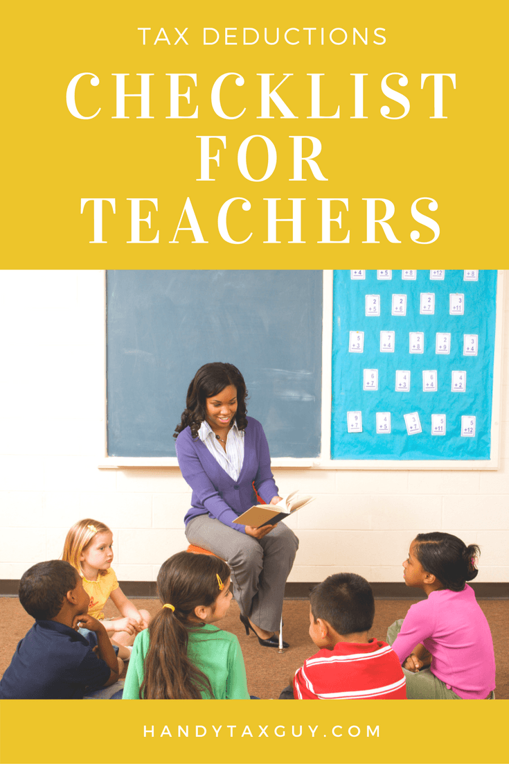 tax deductions for teachers