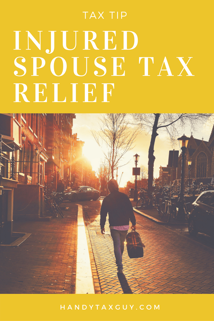 Injured Spouse Relief and Innocent Spouse Relief. tax tip for married people. #taxtips