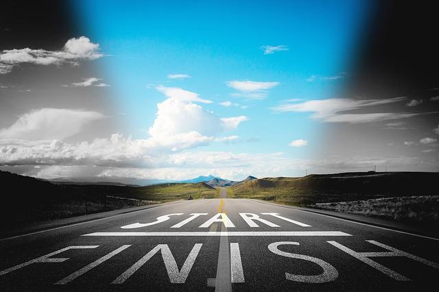 Mileage tax deduction tips Start Finish line