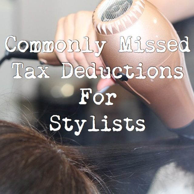 Tax deductions for barbers, stylists, beauticians