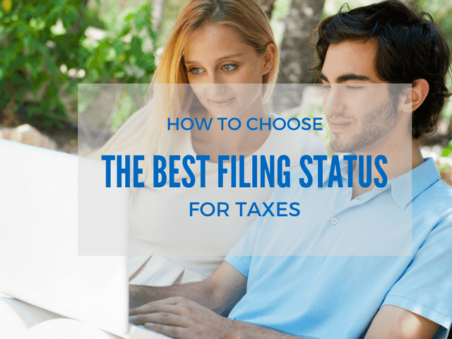 What is the best filing status for taxes?