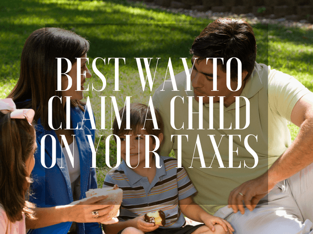 How to claim a child as a dependent on taxes.