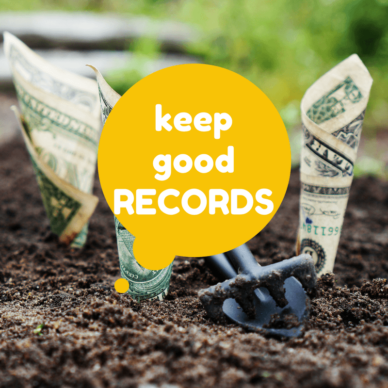 Keep good records of tips made for taxes.