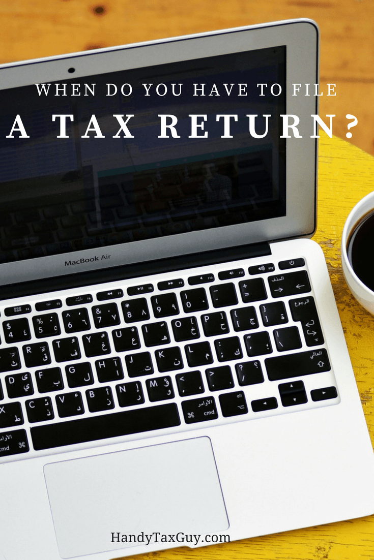 Do you have to file a tax return? File online with this laptop today.