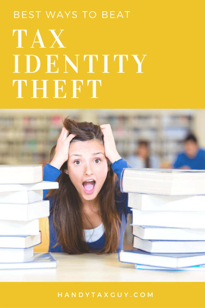 Tax identity theft with tips to beat it #tax tips
