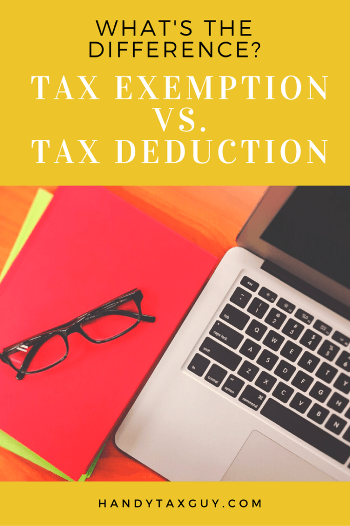 personal exemption and tax deduction