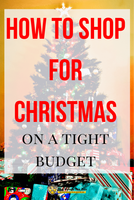 how to shop for christmas on a budget