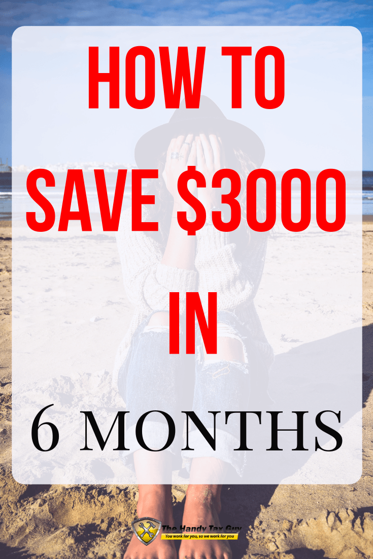 How to save $3000 in 6 months