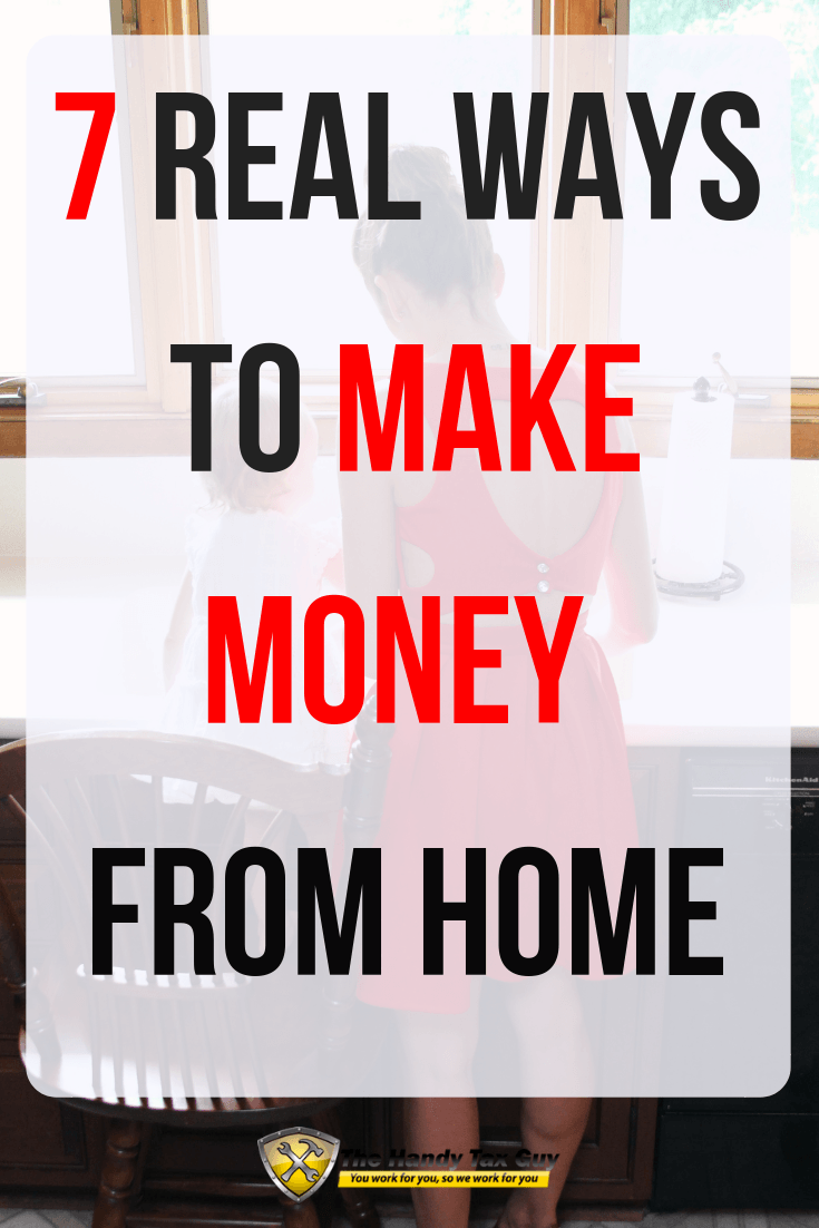 Make money from home. Money tips for moms.
