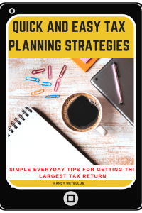Tax Planning Tips Guide eBook #taxes #taxplanning