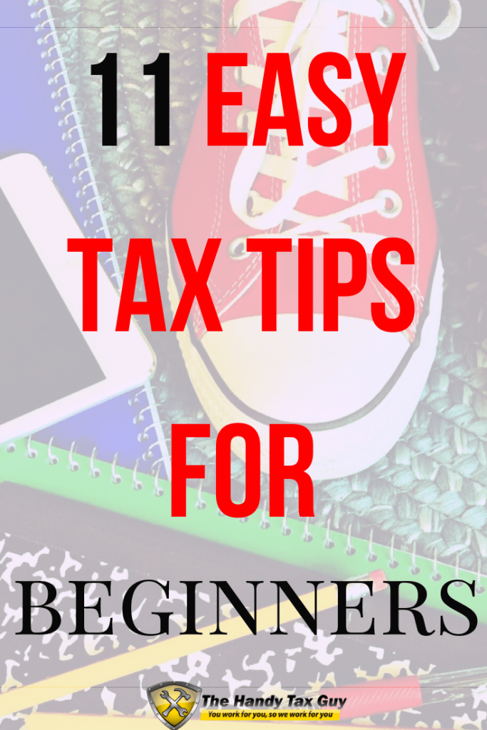 Easy tax tips for beginners