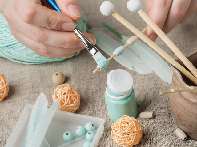 Etsy and Taxes Tips and Deductions with Female Hand Crafting