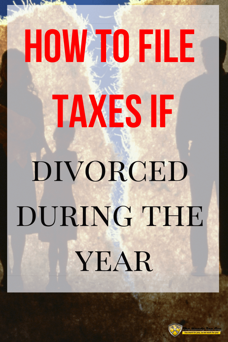 How to file taxes if divorced during the year. Heartbreak and family split. #taxtips #divorce