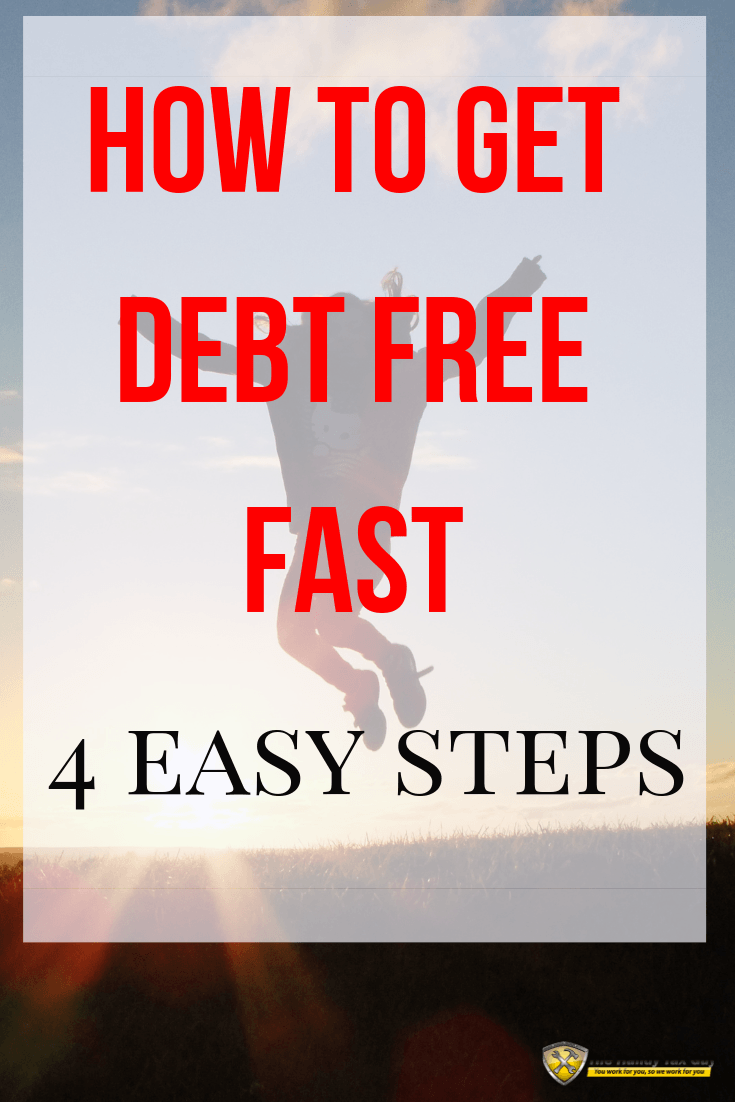 How to get out of debt quickly. #debtfree #daveramsey #babysteps