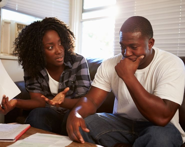 Black couple worried about submitting IRS form 9465 for repayment plan