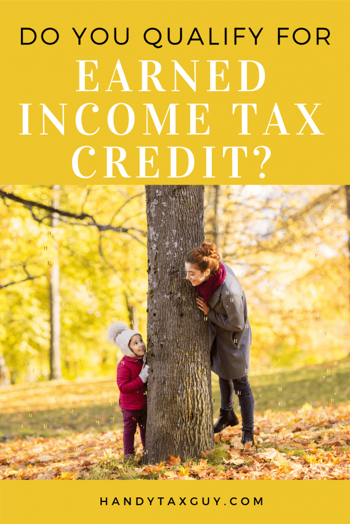 Do you qualify for Earned Income Tax Credit with Mom and Daughter near tree