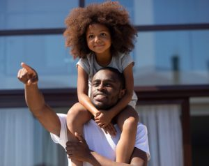 How do I use IRS using Form 8332 with black man and daughter