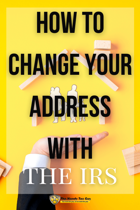 how to change your address with irs form 8822