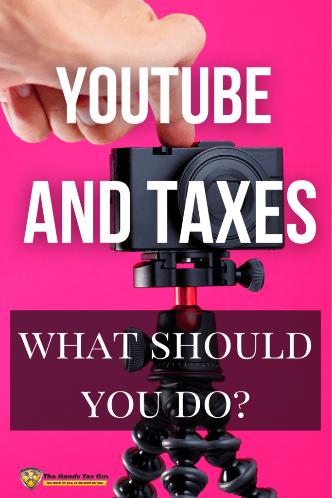 youtube and taxes