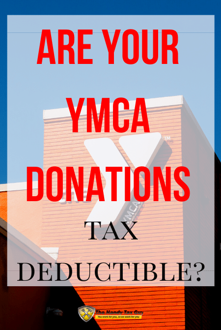 Are your YMCA donations Tax Deductible