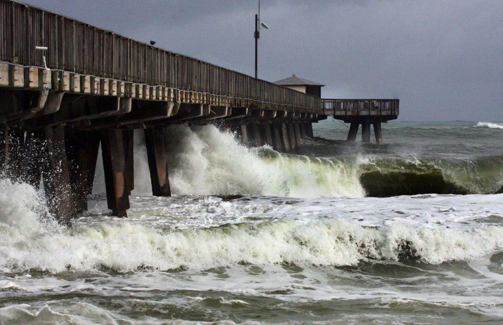 Florida hurricane in Fort Lauderdale 2012