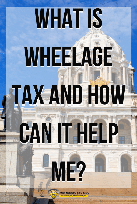 What is Wheelage Tax and How Can it Help Me