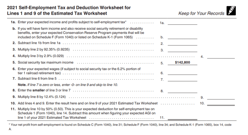IRS Form 1040 ES used to help you learn how to file Quarterly Taxes.
