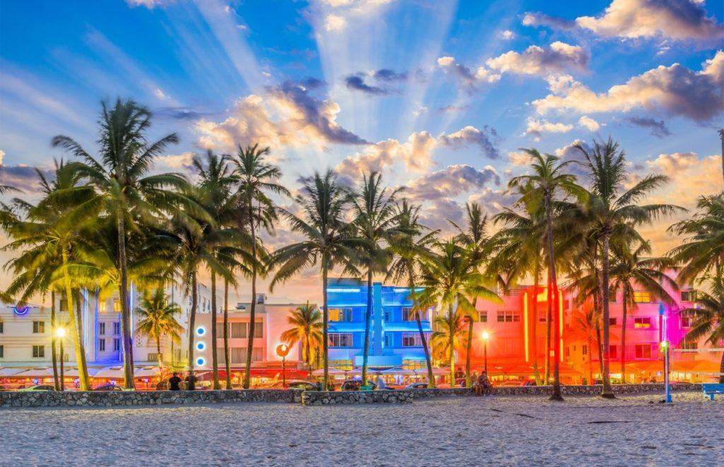 Miami Florida South Beach Strip